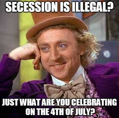 Secession is as American as apple pie
