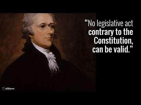 Hamilton on Federal Overreach