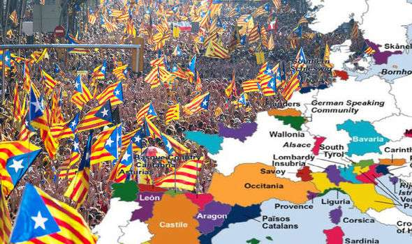 Catalonia referendum – regions desperate for independence